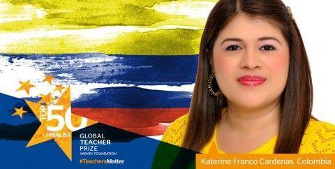 LA PROFESORA COLOMBIANA NOMINADA AL 'PREMIO NOBEL' DE EDUCACIÓN