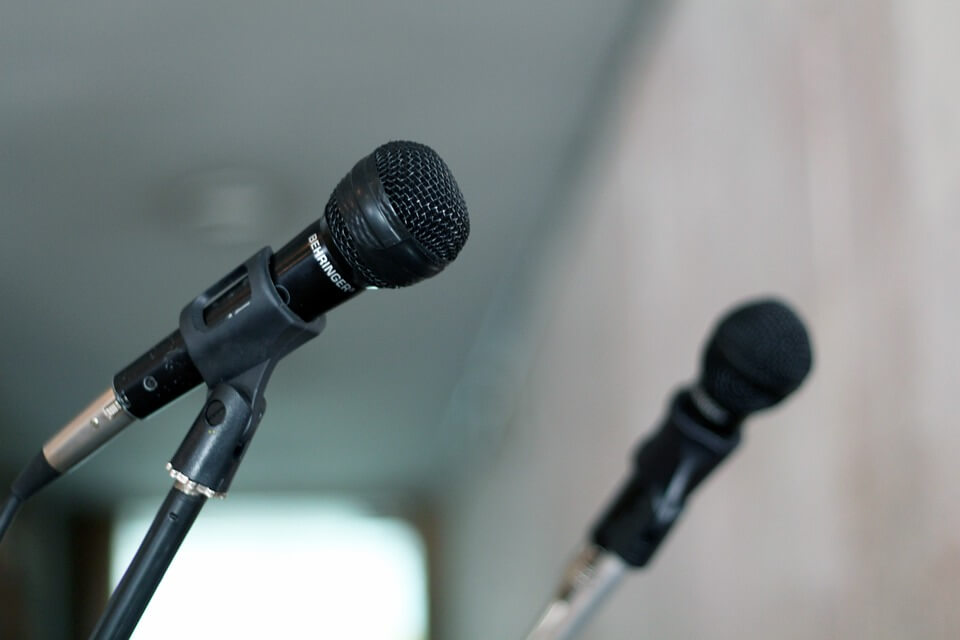 My first 'speech'. Programas de inglés en Medellín.