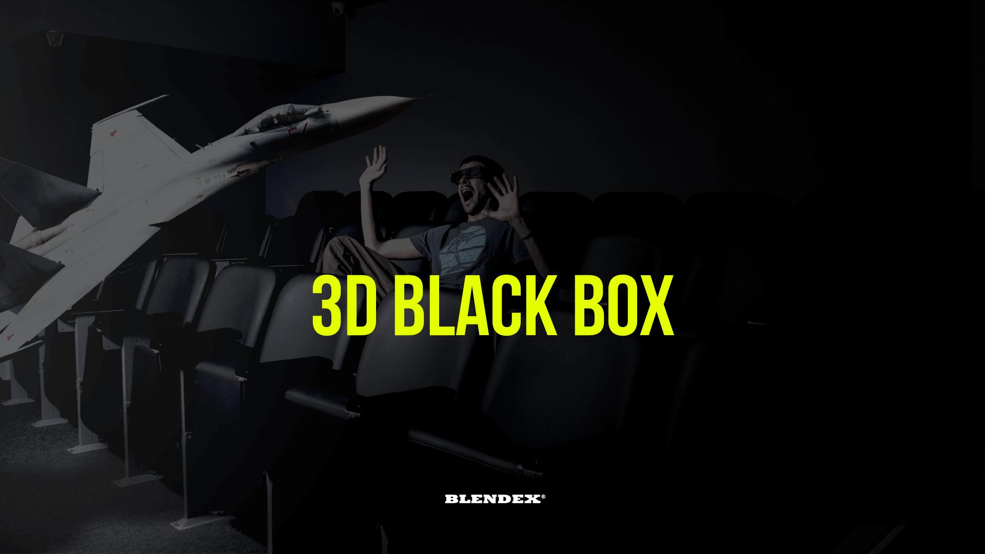 estudiar inglés con la 3D BLACK BOX