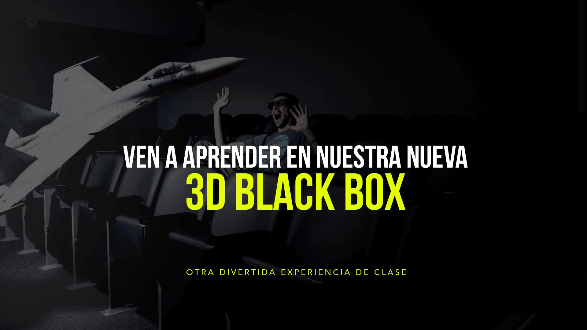 3d Black Box para estudiar idiomas