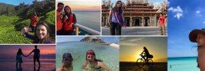 Colombianos consagradoa a viajar